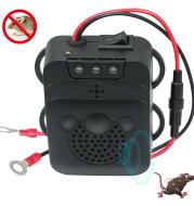 Rodent Repellent Animal Ultrasonic Rat Flashlight Deterrent-Trap 12V with LED Vehicle