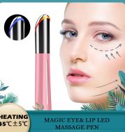 Electric Vibration Heated Eye Massager Eye Wrinkle Massage Pen