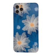 Full Screen Flowers Iphone12Promax Mobile Phone Case Apple