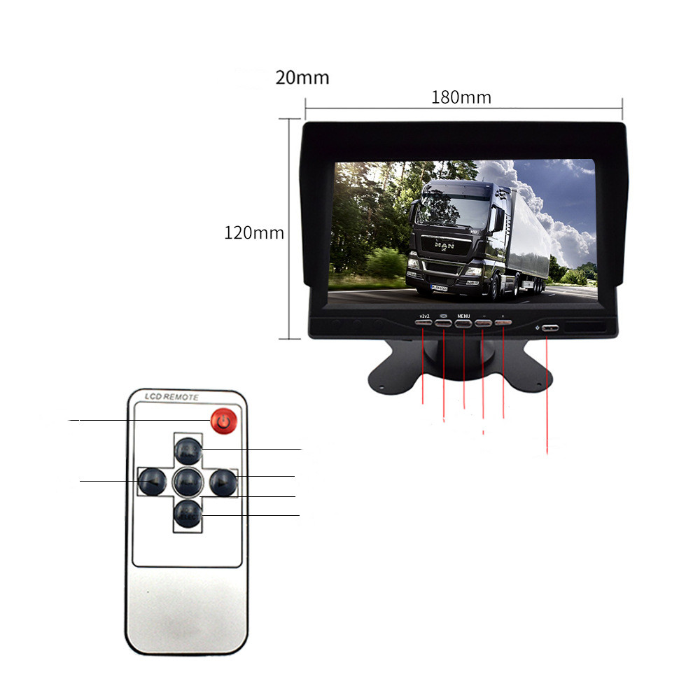 Front And Rear Dual-Recorder Ahd Non-Light Night Vision Recorder