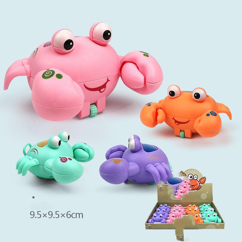 Cute Chick Clockwork Animal Pull Strings LED Lighting Model Baby Funny Kids Development Toy