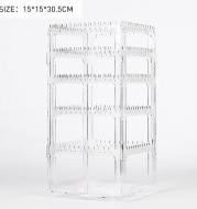 Transparent Earrings, Jewelry Box, Necklace, Hand Jewelry, Household Makeup Storage Rack, Dustproof