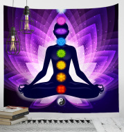 Nordic Background Cloth Background Wall Digital Printing Tapestry Yoga Meditation Home Decoration Tapestry