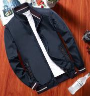 Thin Middle-Aged Men's Autumn Coat Jacket Stand Collar Jacket