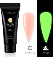Nail Art Luminous Extension Glue Holder