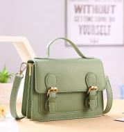 Women's Fashion One-Shoulder Color-Block Messenger Bag