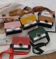 Fashion Messenger Broadband One-Shoulder Small Square Bag
