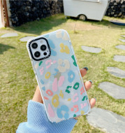 Creative Personality Color Leopard Print Phone Case