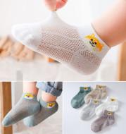 Children's Socks Thin Mesh Boat Socks Pure Breathable Baby Socks