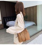 Western Fashion Net Red Bucket Bag Korean Retro Messenger Shoulder Bag
