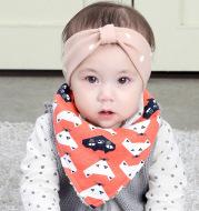 Baby Saliva Towel Plus Velvet Thick Triangle Scarf