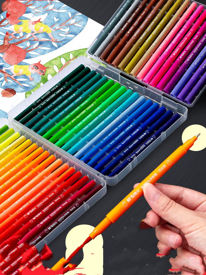 Double Head Watercolor Pens Set