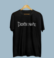 Death Note Crew Neck Print Men's And Women Casual Crew Neck Short Sleeve T-Shirt