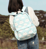 Canvas Backpack For Middle School Students