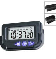 Portable Pocket Sized Digital Electronic Travel Alarm Clock