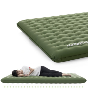 Thickened Double Inflatable Cushion Double Camping Siesta Portable Moisture-Proof Cushion