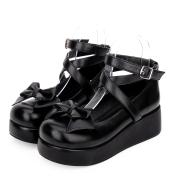 Low Heel Platform Platform Princess Shoes With Lolita Bow