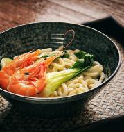 Japanese Style Thread Ramen Bowl Glaze