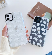 Two-color Transparent Soft Silicone Xr Protective Shell