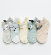 Baby Socks Summer Ultra-Thin Cotton Mesh For Boys And Girls Breathable
