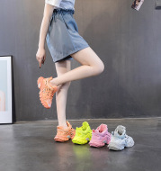 European Station Daddy Shoes Female Ins Trend