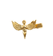 Temperament Metal Hairpin Female Gold And Silver Little Angel Side Clip With Bangs Hairpin