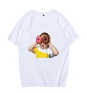 Donut Boy Prayer Short Sleeve Loose T-shirt