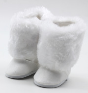 AliExpress Doll Fur Boots 18 Inch American Girl Shoes Factory Direct Snow Cotton Boots In Stock