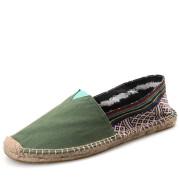 Straw Shoes Men's Set Feet Lazy Fisherman Shoes Women's Linen Canvas Shoes
