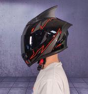 Men's and Women's Double Lens Anti-fog Full Face Four Seasons Cool Motorcycle Helmet