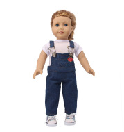 American Doll Clothes New Overalls Americangirl Denim Clothes