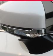 The Second Generation Mazda CX-5 Rearview Mirror Trim Strip 17-20 CX5 Rearview Mirror Cover Anti-Scratch Strip Bright Strip Change Decoration
