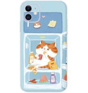 Small Fresh Cat Phone Case Net Red Girl Soft Shell