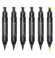 Two-Color Makeup Double-Headed Eyeliner Stamp Pen