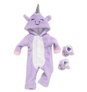 Q18-605 Purple Smile Unicorn