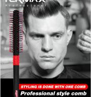 Oil Head Uppercut Men's Roller Comb Superfine Nylon Needle Roller