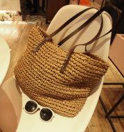 Spring New Beach Woven Straw Bag