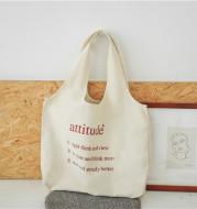 Shoulder Bag Literary Female Large-capacity Canvas