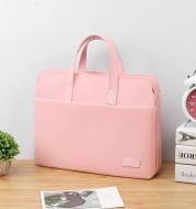 Pure Color Simple Notebook Laptop Bag