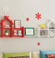 Children's Bookshelf Wall Shelf