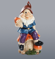 Elf Cartoon Dwarf 19Cm Resin Crafts