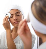 Towel Puff Makeup Face-Skin-Care Facial-Headband 3pcs Spa