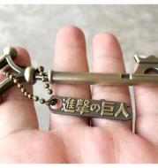 Attack on the Giant Ellen Basement Key Necklace