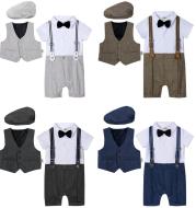 Baby Boy Suit One-piece Gentleman Suit