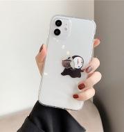 Mobile Phone Case Transparent Anti-Drop Apple Soft Silicone