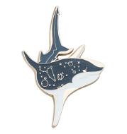 Ocean Shark Brooch Original Design Personality Metal