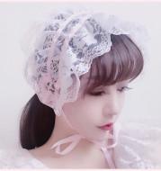Hand-made Retro Girly Doll Lace Headband