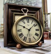 Alarm Clock Creative Silent Clock Retro European-style Clock Pendulum