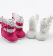 18 Inch Half-hair American Shaf Doll Boots