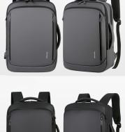 Waterproof Nylon Multifunctional Usb Travel Business Computer Backpack